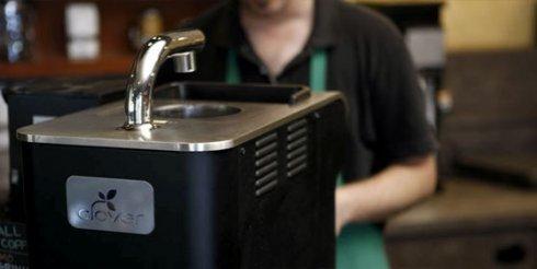 Máquina de café da Clover