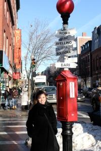 Em Boston, cidade que amamos!