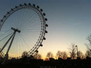 A linda London Eye