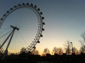 A linda London Eye