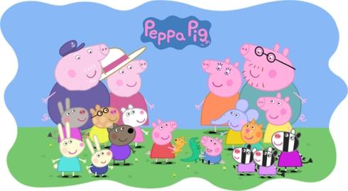 Núcleo Peppa Pig e seus amigos