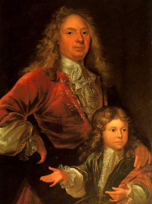Retrato de Vatel e seu filho