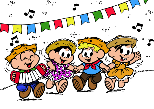 Festa Junina Turma da Mônica
