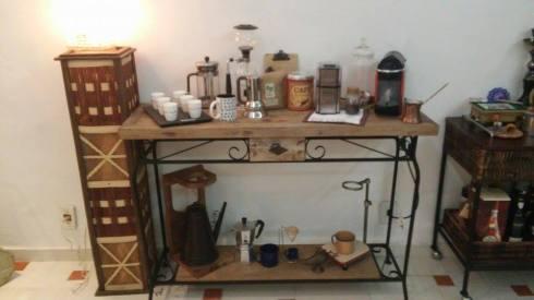O cantinho de café da famíia Almeida