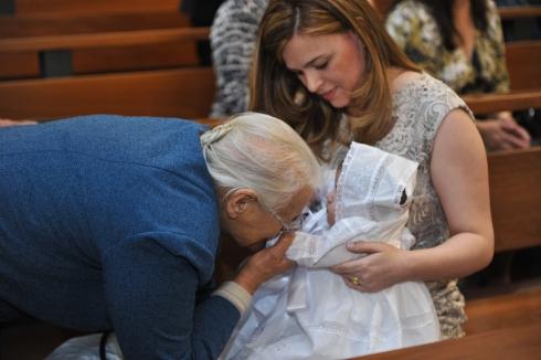 3 gerações: Bibi Silvinha, eu e filhota Valentina
