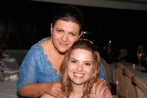 Eu e mamãe